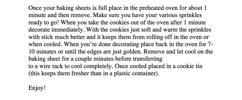 Christmas Sugar Cookie Recipe 2
